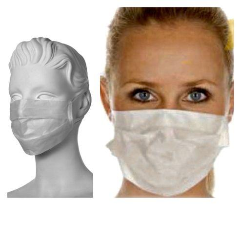 Maski maseczki jednorazowe 2-warstwowe 24h dostawa