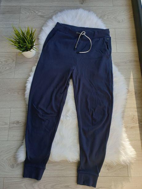 Spodnie dresowe dresy Hugo Boss oryginalne rozmiar S granatowe