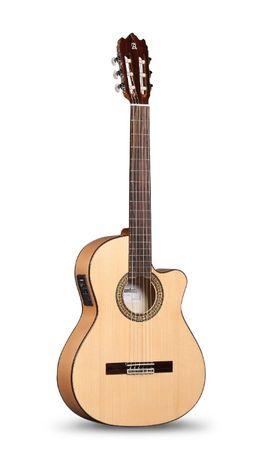 Alhambra 3F CW E1 + Fishman Gitara flamenco 4/4+5kpl strun Savarez!