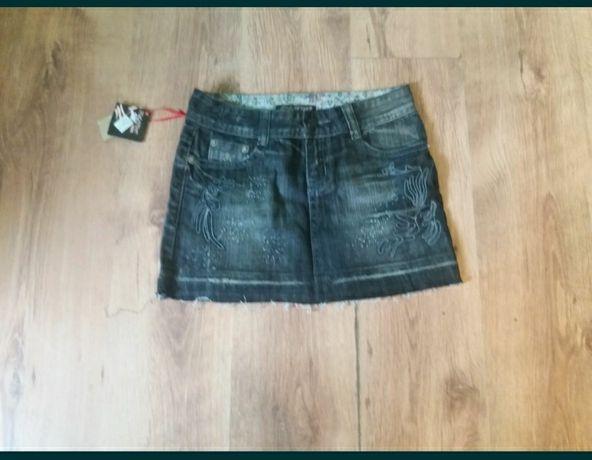 (11)Nowa mini spódniczka r 28 pas 38