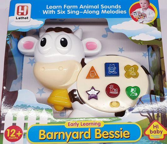 Pianino-keyboard krowa świecąca,gra świeci