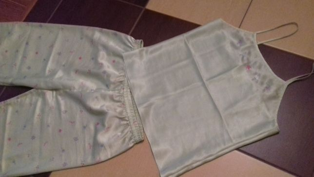 Śliczna satynowa piżama body zone od kappAhl