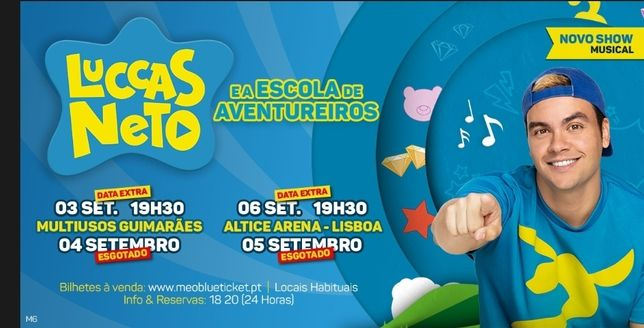 3 Bilhetes Luccas Neto Guimarães 4SET
