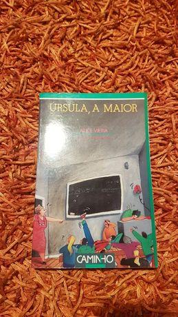 """PORTES GRÁTIS - Livro """"Úrsula, a Maior"""" de Alice Vieira"""