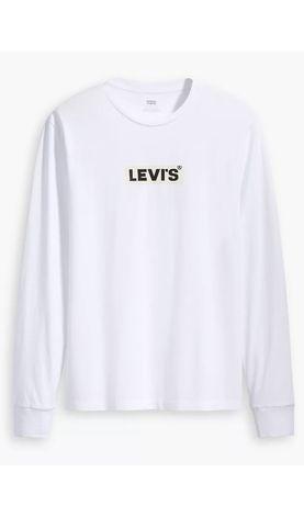 S M L XL Levis белый свитшот лонгслив кофта новая hilfiger adidas nike