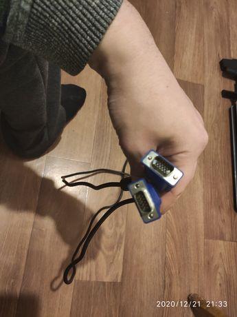 Кабель подключения Монитора VGA