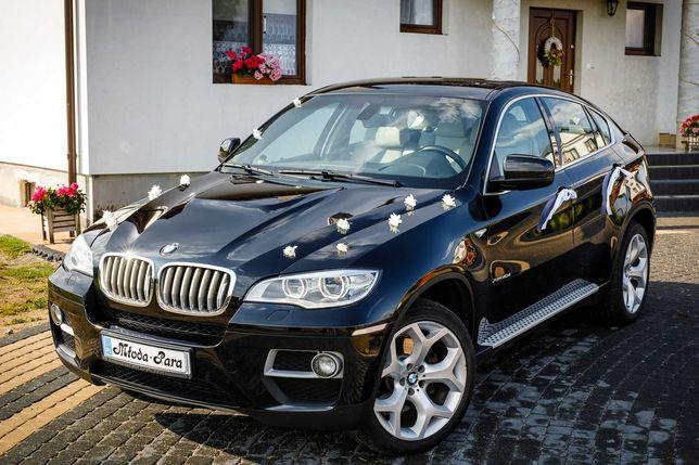 Auto do ślubu BMW X6
