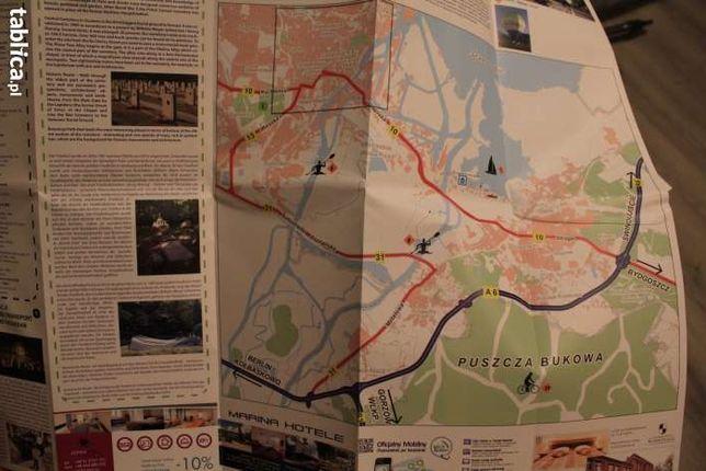 Szczecin mapa plan centrum miasta-324