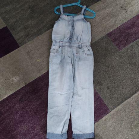Kombinezon jeansowy rozmiar 122 Reserved