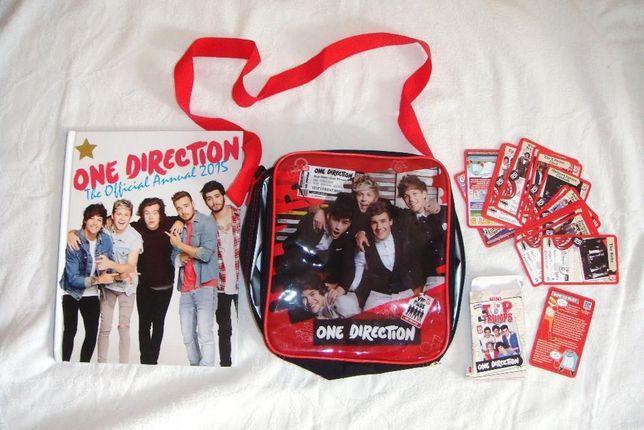 One Direction torebka + książka + karty P-Ń
