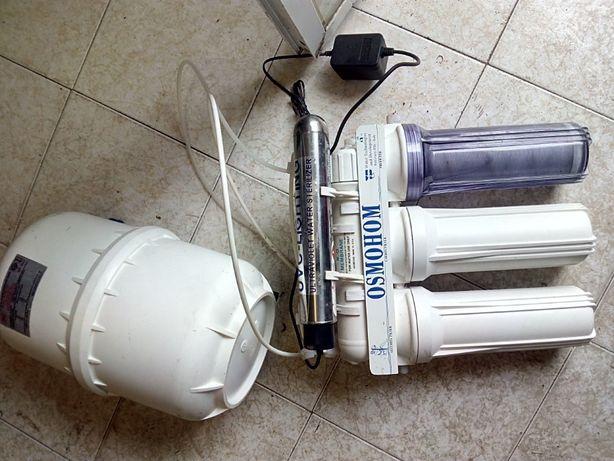 Purificador de Agua OSMOHOM Com varias etapas