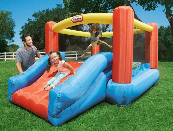 Батут для Детей, Надувная Детская площадка для игр Горка