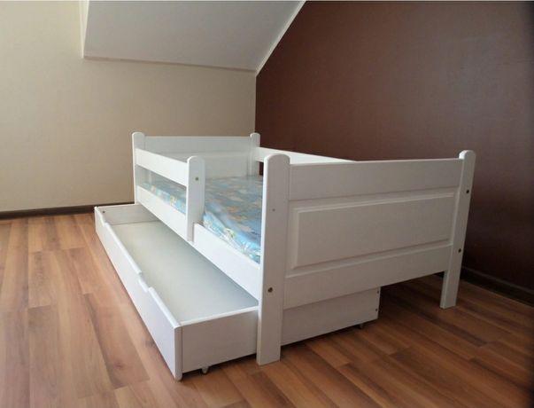 Łóżko dziecięce 80x160 sosnowe
