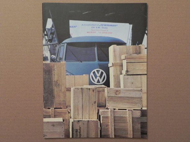Prospekt - VOLKSWAGEN VW TRANSPORTER T1 - 1965 rok .