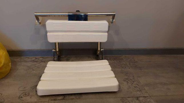 Siedzisko pod prysznic dla seniorów lub niepełnosprawnych