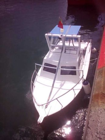 Barco pronto a navegar