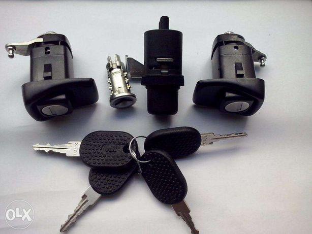 PANDA Fiat kit canhões fechaduras portas mala ignição novo