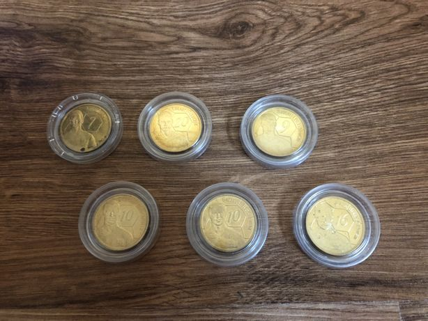 Monety z polskimi piłkarzami