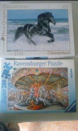 Puzzles Ravensburger e Clementoni