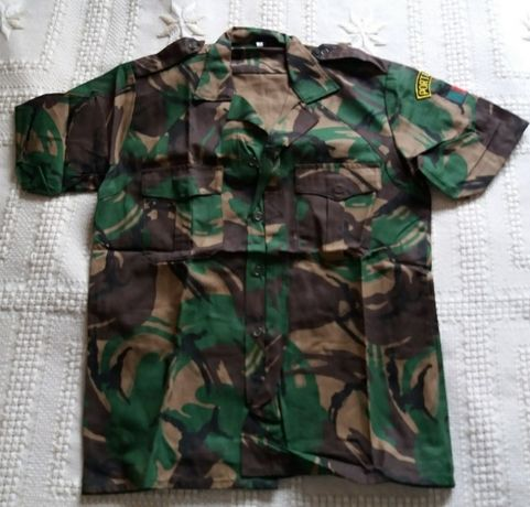 Camisa airsoft/paintball