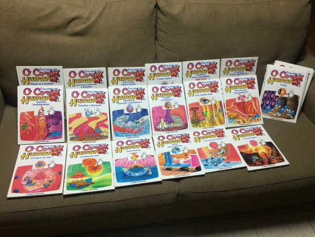 Pack Livros + Dvd's O Corpo Humano