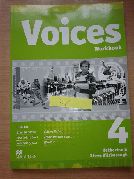 Voices Workbook 4 język angielski