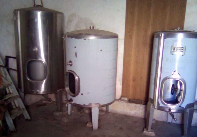Depósitos Vinho em Inox