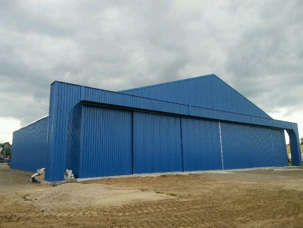Hala namiotowa,hangar 35x35x6 GAJ-STAL