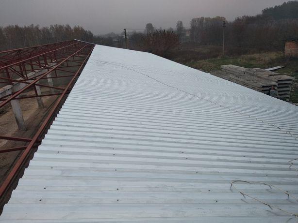 Кровельные работы (от 400м2). Замена, ремонт и монтаж крыш Демонтаж
