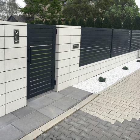 Bloczek ogrodzeniowy betonowy - Bloczki betonowe - Montaż ogrodzenia