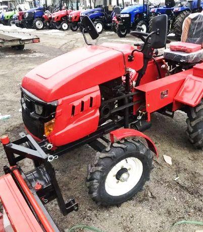 Хіт! Мототрактор ФОРТЕ 161 плуг+фреза+генератор З гаpантією трактор