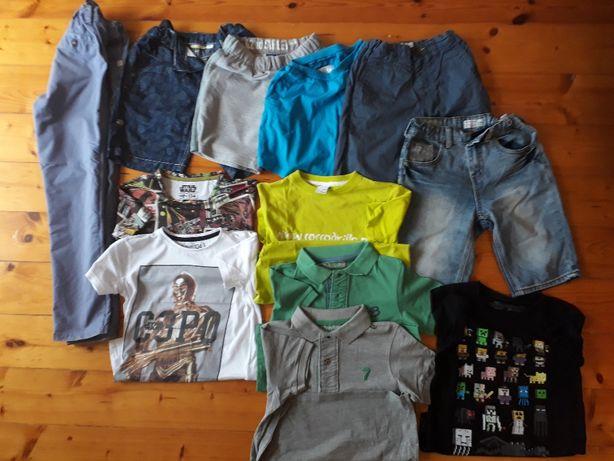 Paczka_10 Ubrania chłopięce 134 cm