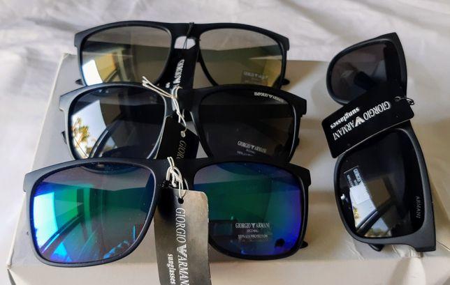 Okulary przeciwsłoneczne Emporio Armani CLASSIC - Dostawa Gratis!