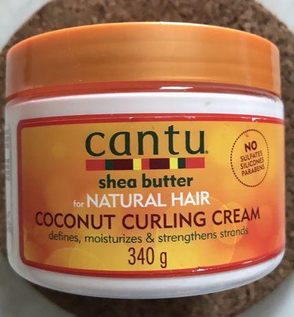 Cantu curling cream naturalny krem do stylizacji włosy kręcone