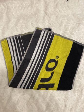 Czarno-szaro-żółty ręcznik Andro