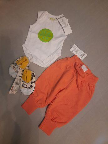 Zestaw, ubranka dla noworodka 5 10 15, KappAhl