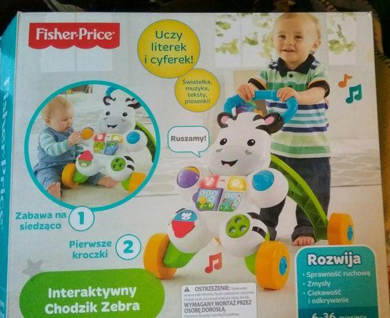 Fisher Price żyrafa pchaczek
