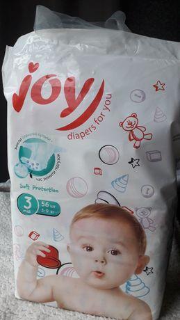 Памперсы, подгузники Joy (размер 3)