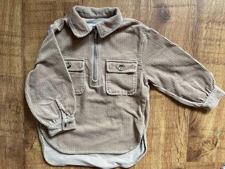 Koszula sztruksowa Zara 116