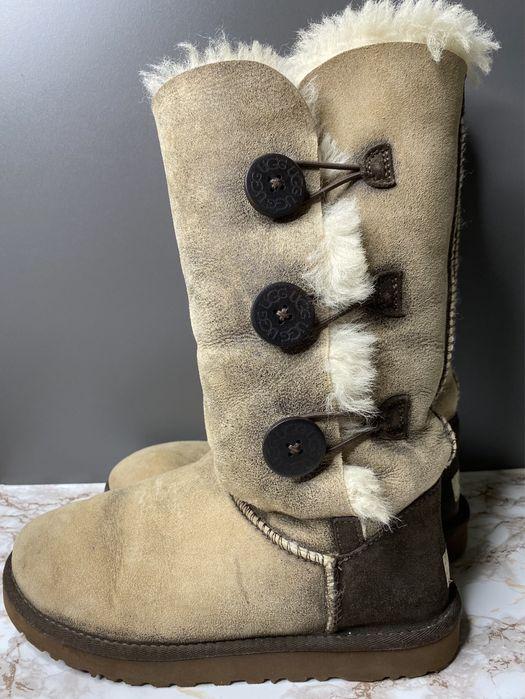 Ugg уги зимние высокие оригинал натуральная овчина кожа сапоги ботинки Шостка - изображение 1