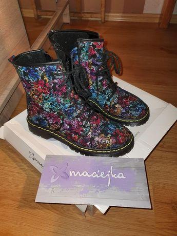 Piękne skórzane buty Firmy Maciejka