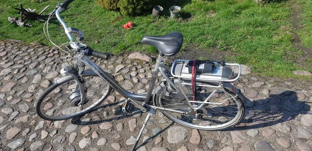 rower  elektryczny gazelle Orange energy