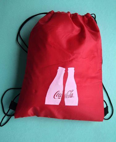 сумка Кока Кола термосумка или  для сменной обуви