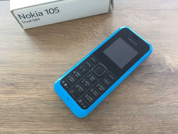 Маленький и компактный Nokia 105 Dual Sim на 2 сим карты телефон