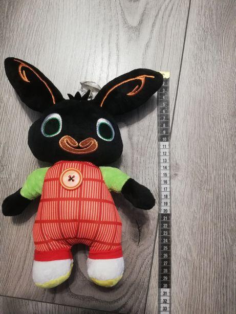 Nowa maskotka Bing króliczek z przyssawką i ruchomym guziczkiem