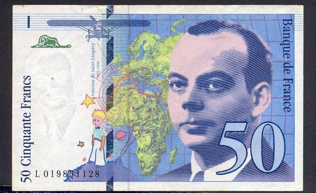 Banknot Francja 50 franków z 1994 r