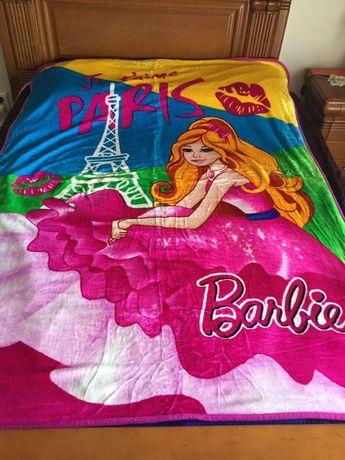 Manta e colcha para cama de solteiro - menina