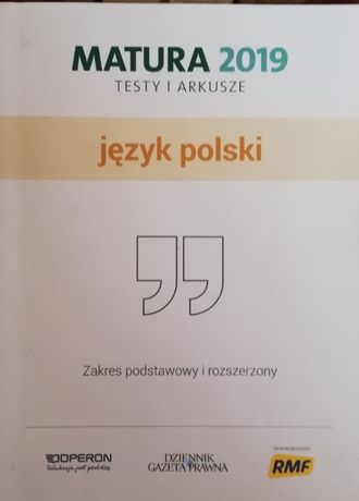 Matura Polski 2019- arkusze