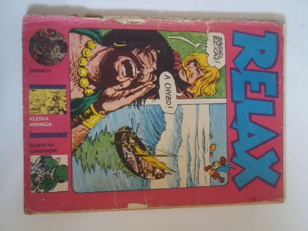 Relax #3 - mag komiksowy