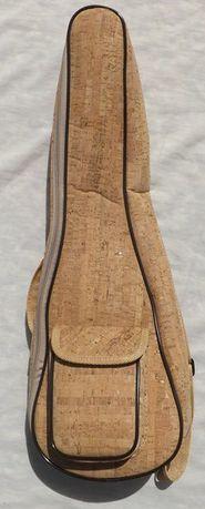 Saco de cortiça almofadado de cavaquinho ou ukulele soprano